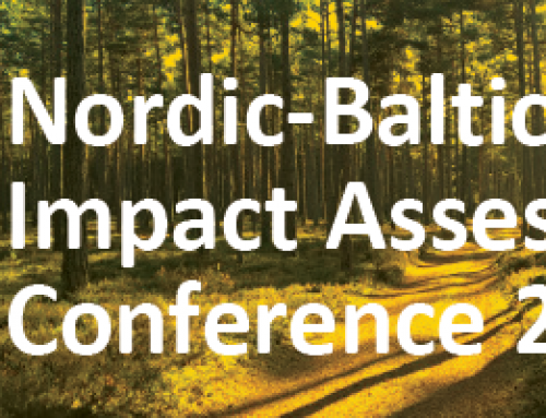 Nordic-Baltic Impact Assessment Conference 2018